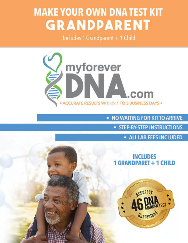 DNA Test Kit sample.