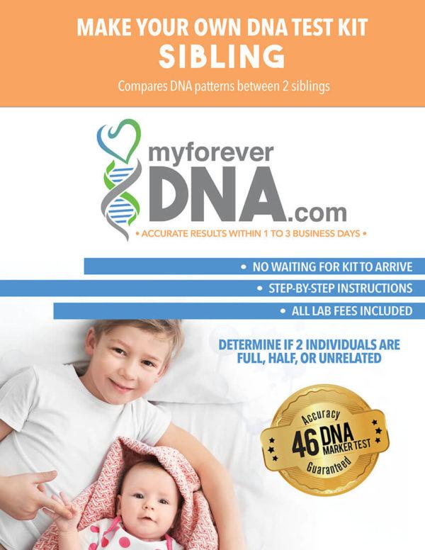 DNA Test Kit sample.